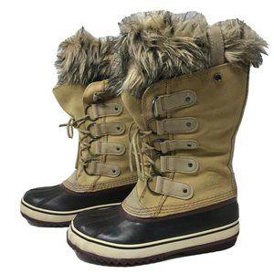 Sorel Women's Boots 8 Waterproof Suede Winter